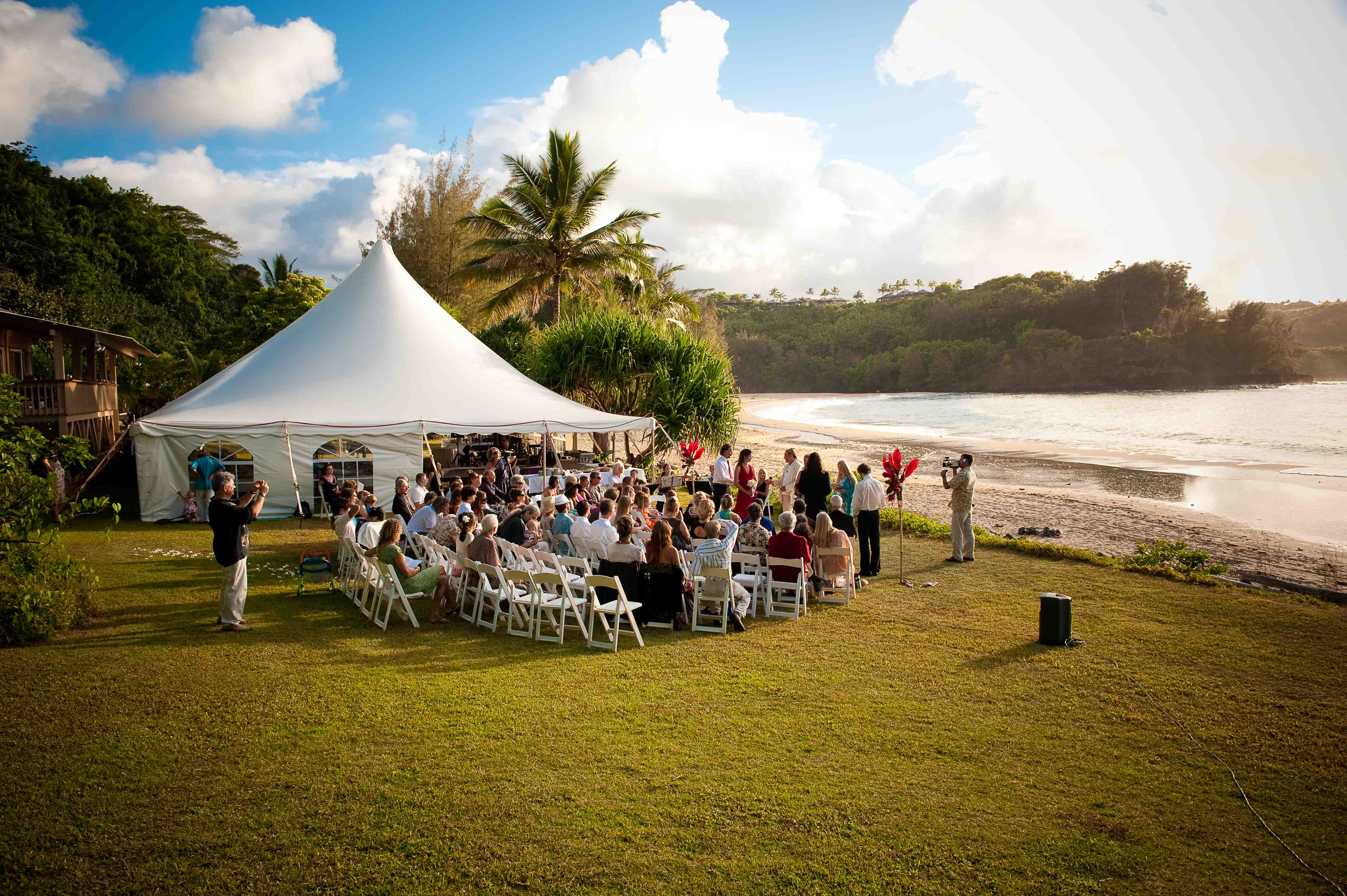 Wedding Reception On Kauai Hawaii Wedding Tips Part 6